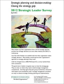 2012 Strategic Leader Survey results 4-27-2012-1