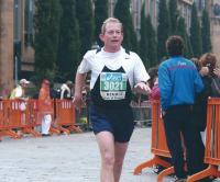 Firenze marathon final curve 2004