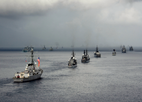 US_Navy_090819-N-7047S-085_The_guided-missile_destroyer_USS_McCambpell_(DDG_85)_transits_Manado_Bay_along_with_ships_from_33_other_countries_during_the_Indonesian_International_Fleet_Review