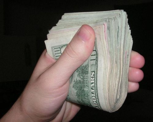 500w cash